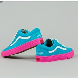 be142ff02053 ISO Golf Wang Vans Blue and Pink size 12